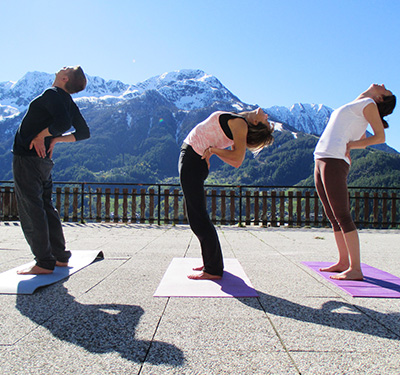 Dynamic Yoga in Chiesa Valmalenco ( Valtellina ) January 19th-21st, 2018