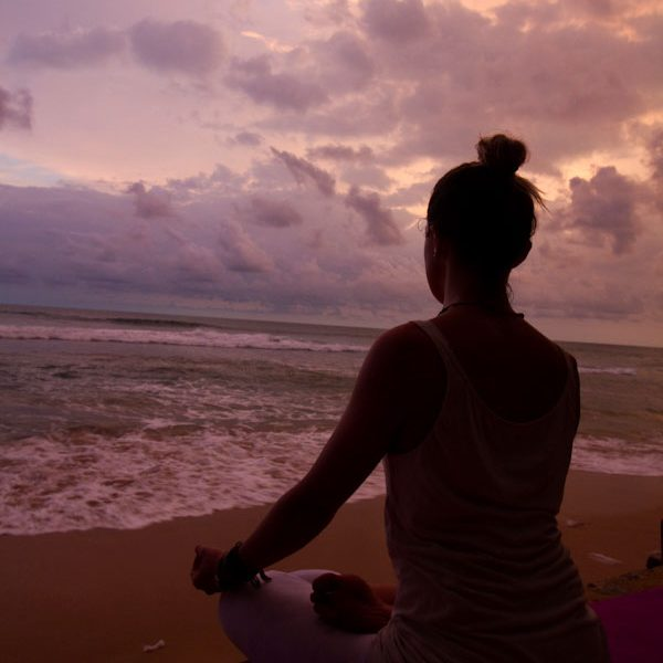 Yoga fight stress and find serenity