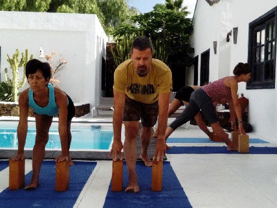 Iyengar Yoga retreat in Lanzarote 2020